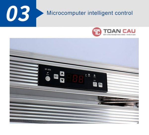 Set nhiệt độ tủ mát