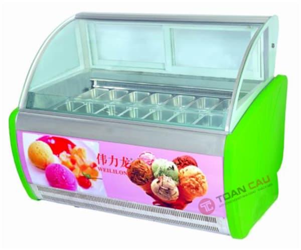Tủ trưng bày kem tươi 10 khay
