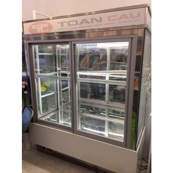 Tủ bánh kem cửa mở trước