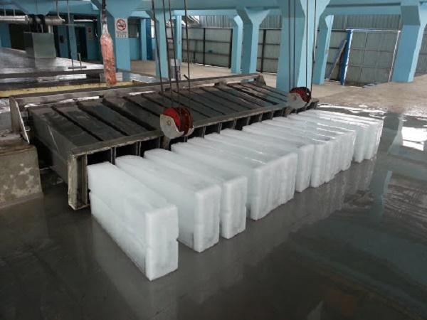 Sản xuất đá cây công nghiệp