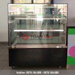 Tủ trưng bày bánh kem kính vuông Berjaya đẹp