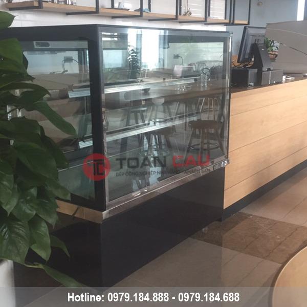 Tủ trưng bày bánh kem kính vuông Berjaya giá rẻ